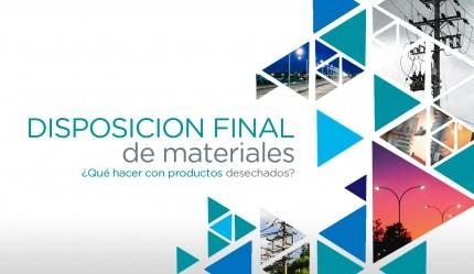 Disposición Final de Materiales