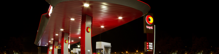 Iluminación Estaciones de Servicio LED